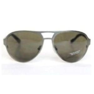 Club Monaco Men Women Aviator Sunglasses Gunmetal